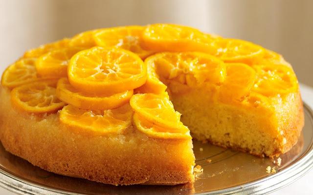 كيكة البرتقال